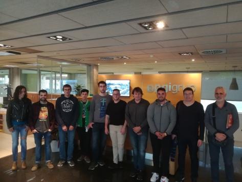 Visita PGI pels alumnes de 2n de projectes de instal·lacions tèrmiques i de fluïds